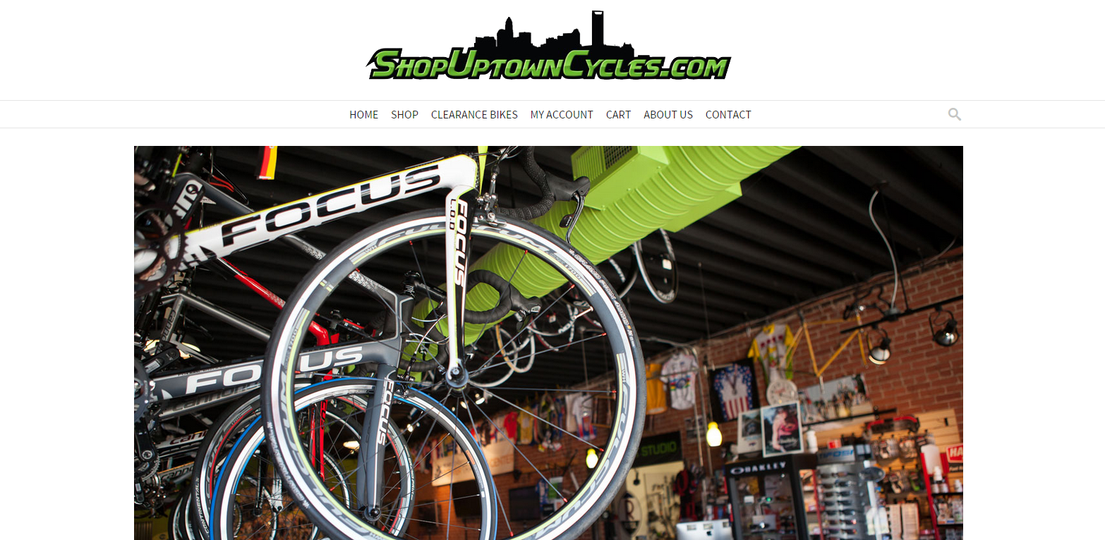 Shop Uptown Cycles